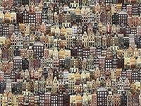 パズル1000ピース大人のパズル紙パズルクラシック3Dパズルかわいい猫の肖像画コレクションモダンな家の装飾38x26cm