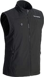 Tourmaster Synergy 7.4V battery-heated Vest (LARGE) (BLACK)