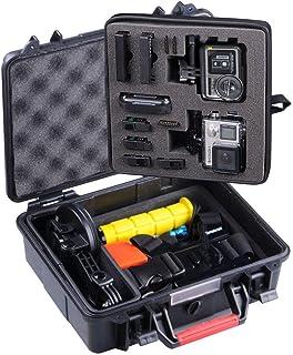 Smatree SmaCase GA500 Estuche Duro Flotable/Resistente al Agua para Gopro Hero 876543+321 Osmo Action(Cámara y Accesorios no incluidos)
