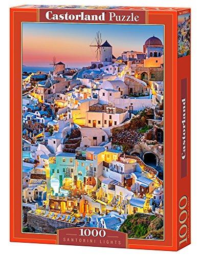 Castor Paese C di 103522–2–Puzzle Santorini Lights, 1000Pezzi