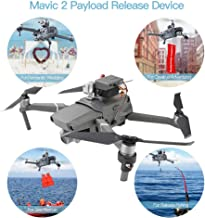 RCstyle Mavic 2 Drone Clip Payload AirDrop Release Fishing Bait Wedding Proposal Drone Delivery Device Compatible with DJI Mavic 2 Pro/Zoom