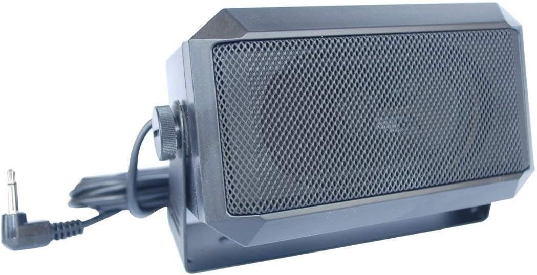 VECTORCOM TRD550 Rectangular 3.5mm Plug 5W External Speaker/CB Speaker for Ham Radio, CB and Scanners