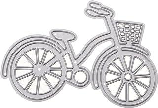 VANKER DIY Vélo Bicyclette Découpe Matrices Pochoir Stencil Album de Scrapbooking Décoration Artisanale