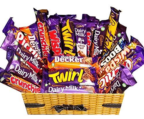 Caja de selección de chocolate Cadbury Deluxe - Mega Cadburys Hamper Gift.