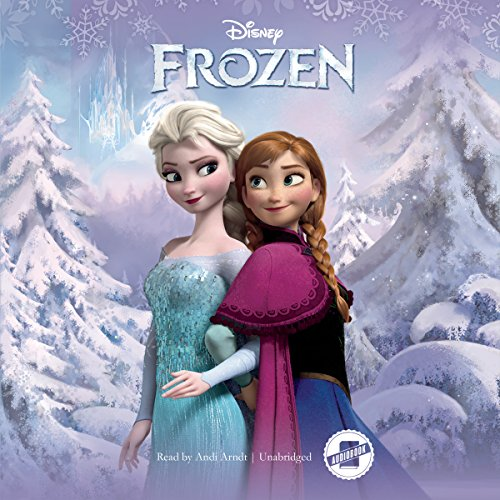 Frozen                   By:                                                                                                                                 Disney Press                               Narrated by:                                                                                                                                 Andi Arndt                      Length: 2 hrs and 18 mins     595 ratings     Overall 4.2