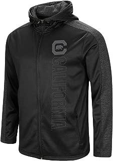 Cal Berkeley Golden Bears Men's Full Zip Jacket Blackout Hoodie