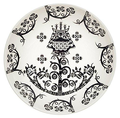 Iittala Taika Assiette creuse en porcelaine Noir 20 cm