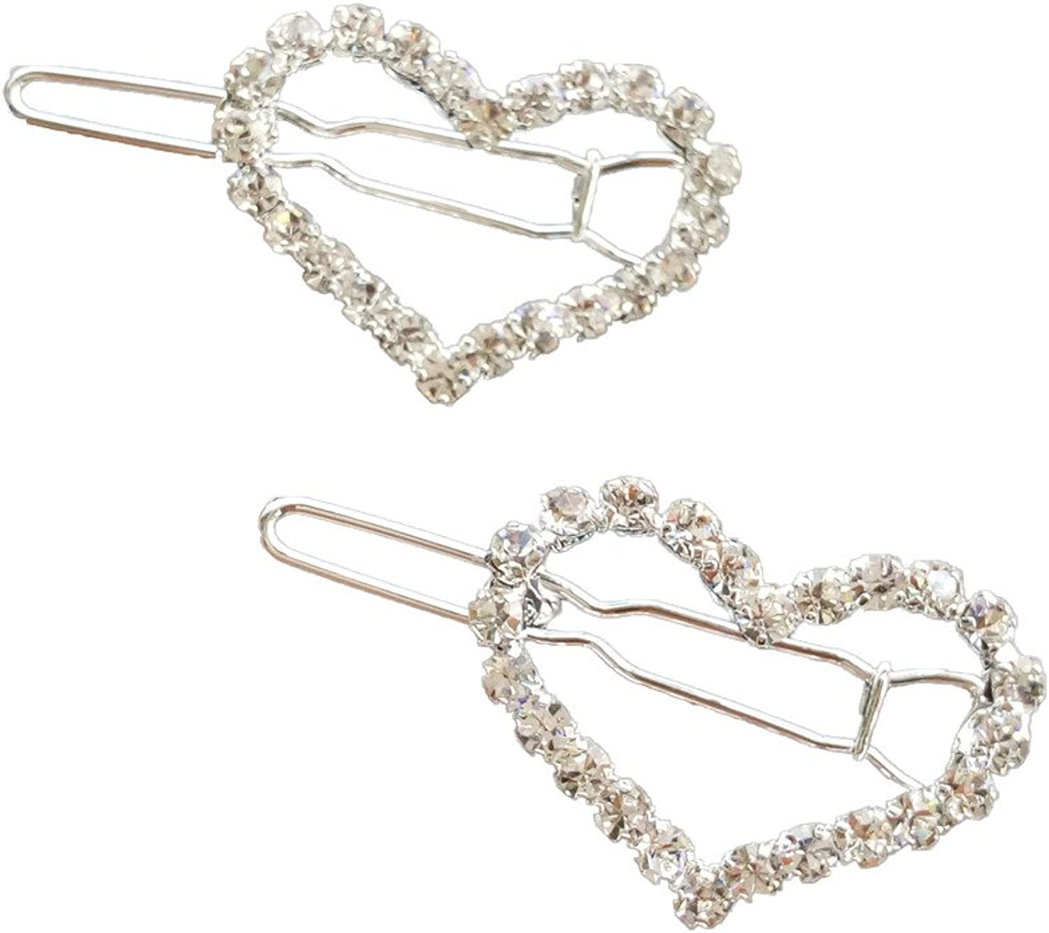 los últimos modelos PET SHOW Heart Heart Heart Bling Clear Crystal Rhinestone Girls Pet Cat Dog Frog Hair Clips Grooming Hair Accessories by PET SHOW  precios ultra bajos