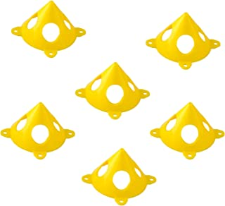 Dublin 20pcs Pyramid Stands, Mini-Paint Stand Painter Tripods, Pyramids Tab Feature(Yellow)