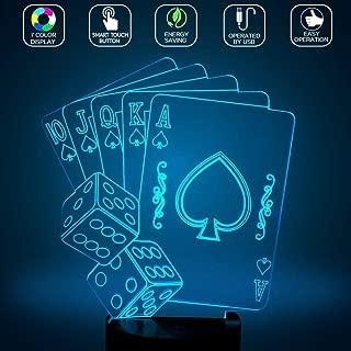 casino party lights