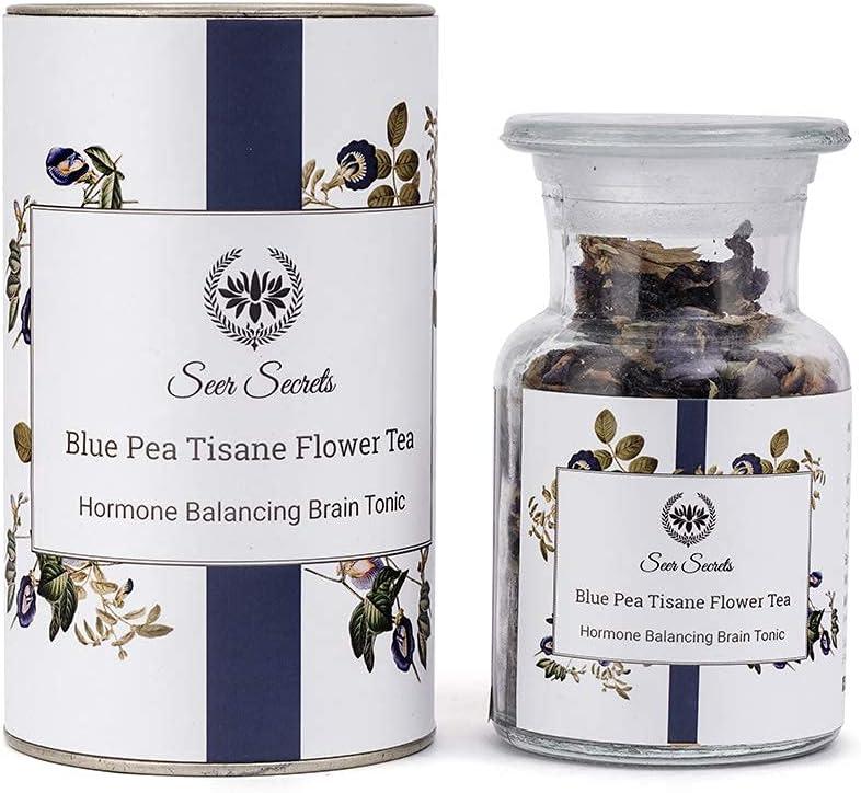 Seer Secrets Pure Trust Blue Pea Tisane 20g Herbal Tea Hormone 2021 new Balanc