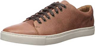 Brothers United Men's Leather Luxury Lace Up Classic Fashion Sneaker