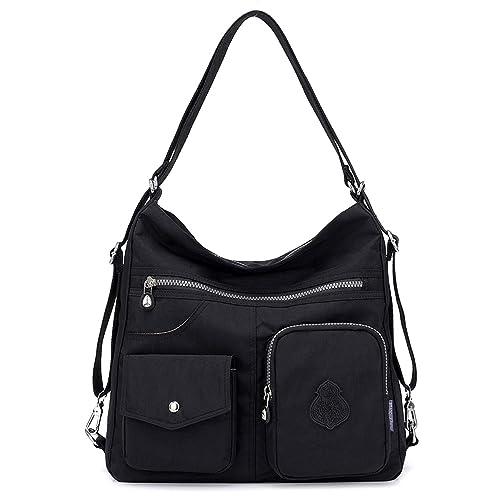 348a6c7ca40d1 Outreo Mujer Bolsos de Moda Impermeable Mochilas Bolsas de Viaje Bolso  Bandolera Sport Messenger Bag Bolsos