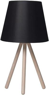 Solight Milano Tripode - Lámpara de mesa (56 cm, E27, acero ...