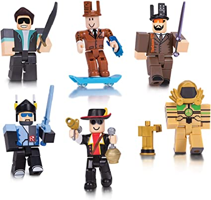 Roblox Action Collection - Legends of Roblox Six Figure Pack [Includes Exclusive Virtual Item]