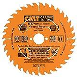 CMT 271.200.36M Lama Circolare Itk-Plus per Taglio Lungo e Traverso Vena, Arancio...