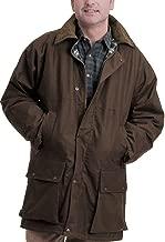 GAME Stormway Mens British Padded Country Wax Winter Rain Jacket 4XL Brown