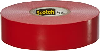 Scotch Vinyl Color Coding Electrical Tape 35, 3/4 in x 66 ft, 10 rolls/carton, Red