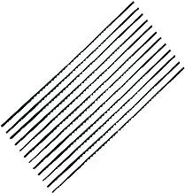 Faithfull - Cuchillas de sierra de marquetería (12 unidades, 14tpi)