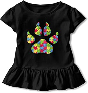 Breast Cancer Butterfly Baby Boys Girls Short Sleeve Crewneck Tee Shirt
