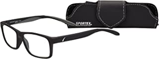 Select-A-Vision mens Sportex Ar4163 Gray Reading Glasses, Gray, 29 mm US