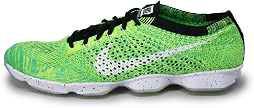 femmes Flyknit Zoom Agility 698616 701 volt  blanc Taille 7.5 by Nike