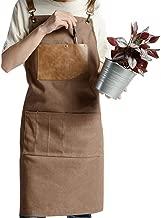 Babero Ropa De Trabajo para Caf/é Delantal Unisex Lavable A M/áquina Delantales De Babero Liso Delantal Minimalista N/órdico A Granel para Hombres Y Mujeres MRlegendary Delantales A Granel