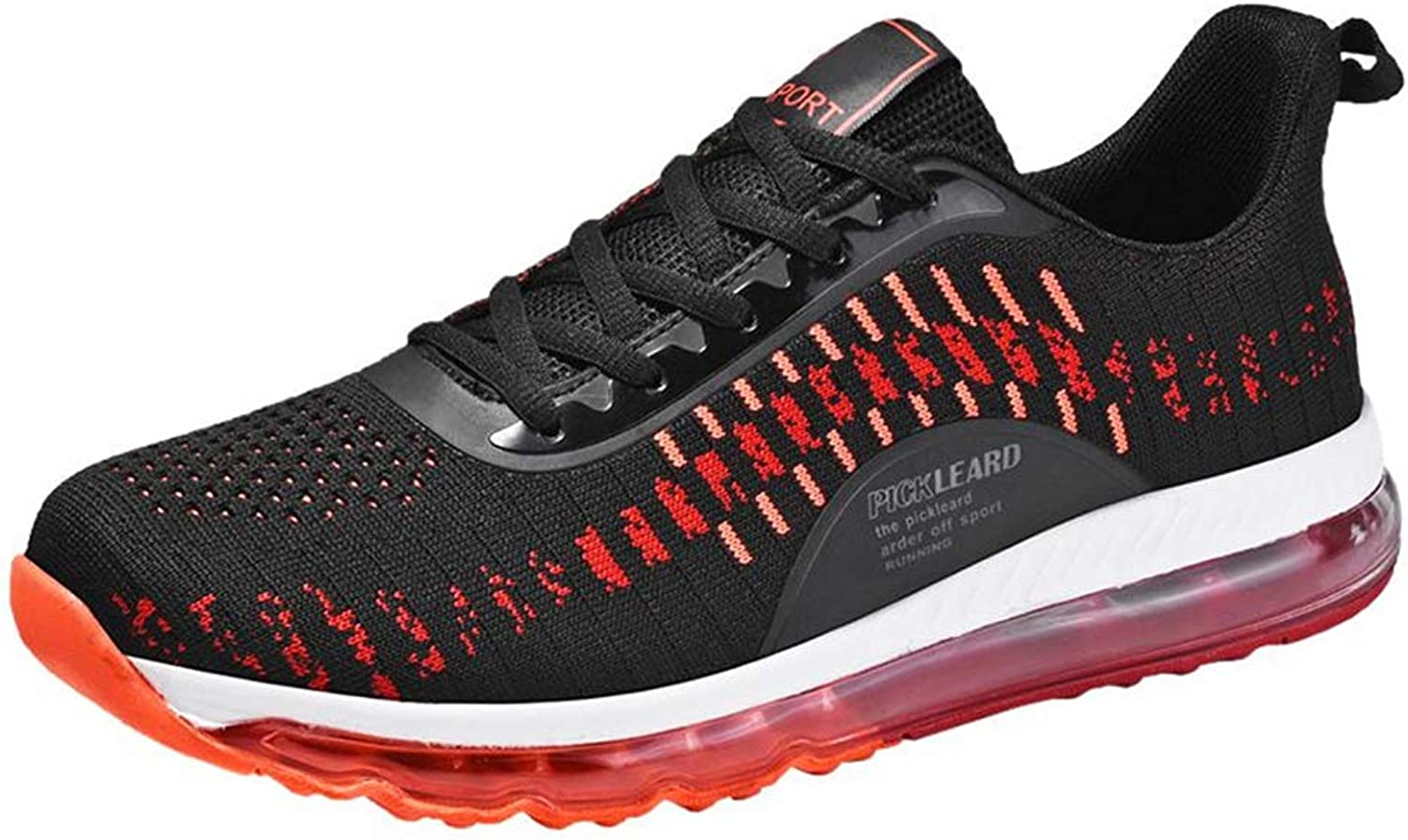 Mzq-yq Men's Casual shoes Spring Running shoes Wild Flying Woven shoes Xl Men's shoes Air Cushion 46,47,48