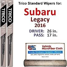 Best 2016 subaru legacy wiper blade size Reviews