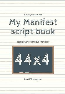 My Manifest script book 44x4