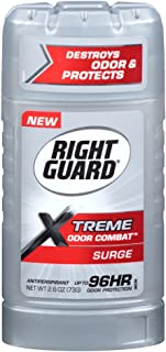 Right Guard Right Guard Xtreme Odor Combat Surge Invisible Solid Antiperspirant and Deodorant, 2.6 Oz, 2.6 Ounce