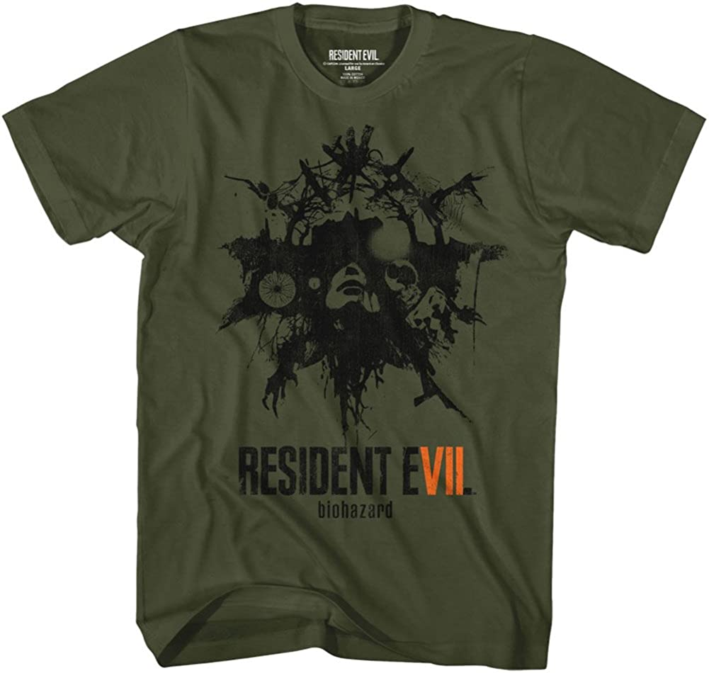 American Classics Resident Evil Talisman Green Military 売買 Adult 春の新作続々 T-