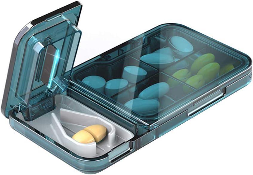 Bticx Pill Cutter Splitter favorite Easily Split PM Daily AM Weekly update Pills