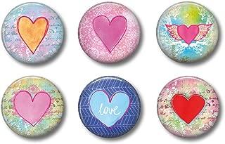 heart shaped fridge magnets