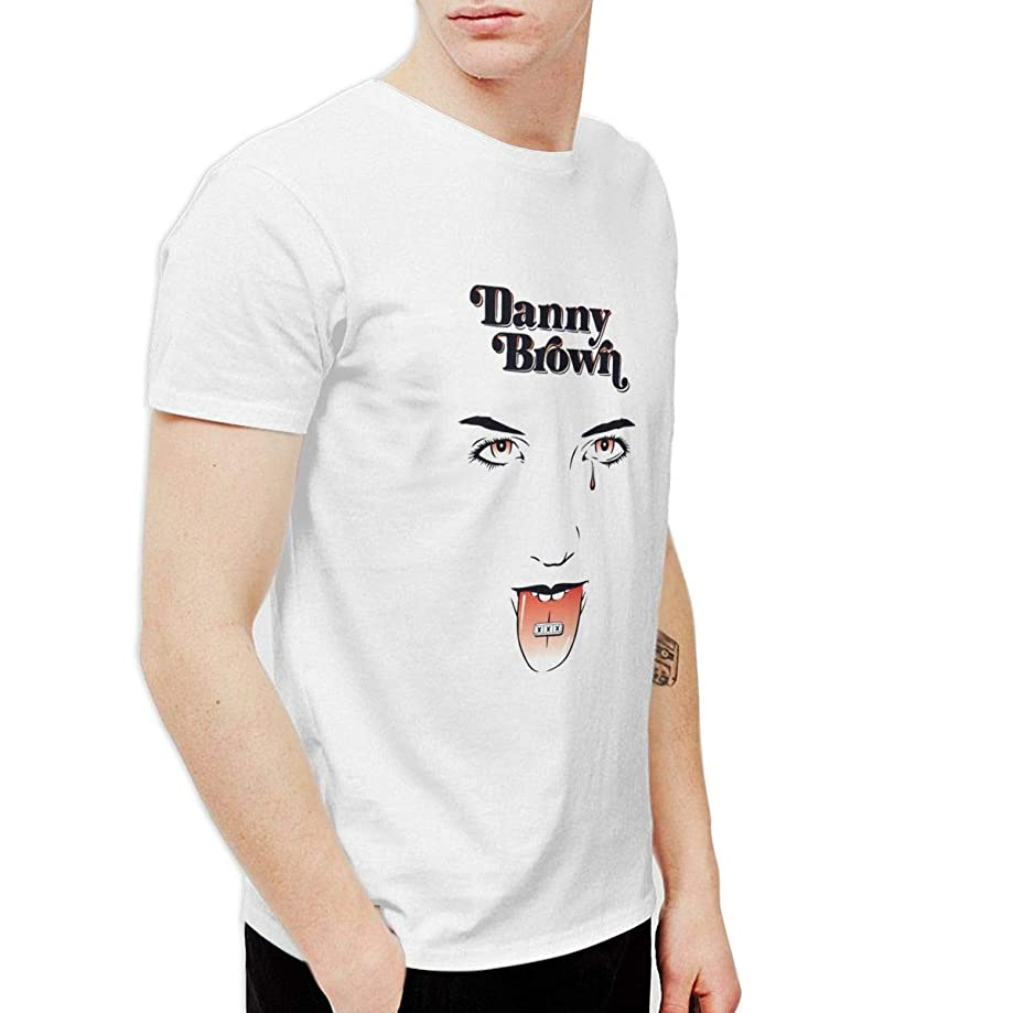 CLANN Danny Brown XXX Unisex Funny Short Sleeve Fashion Art T-Shirt White