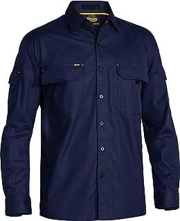 BISLEY WORKWEAR Men's X Airflow Ripstop Shirt - Long Sleeve