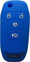 Rpkey Silicone Keyless Entry Remote Control Key Fob Cover Case protector For 2013 2014 2015 2016 Ford Fusion N5F-A08TAA 164-R7986 3248-A08TAA