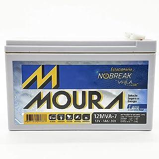 Bateria Moura Selada Vrla 12V 7Ah Estacionaria 12Mva-7