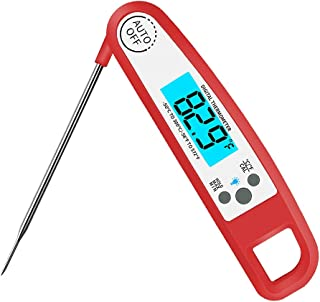 Digital Instant Read Thermometer,Electronic Food/Cooking Thermometer Barbecue Meat Thermometer Kitchen Thermometer � Food-safe Sturdy Steel Probe for Kitchen, Outdoor Cooking, BBQ, and Grill