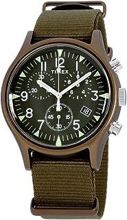 Timex Men's MK1 Aluminum Chronograph 40mm Analog Quartz Nylon Strap