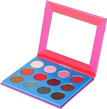 MISKOS Pink Eyeshadow Palette Nude Natural Eye Makeup 12 Shades Matte Shimmer Highly Pigmented Powder Waterproof Eye Makeup Cosmetic Kit