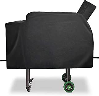 QuliMetal Pellet Grill Cover for Green Mountain Grill GMG-3001 Daniel Boone, Anti-UV & Waterproof Patio BBQ Grill Cover