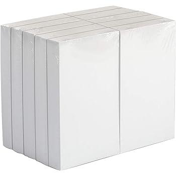 """AmazonBasics Blank Index Cards, 3"""" x 5"""", White, 1000-Pack"""
