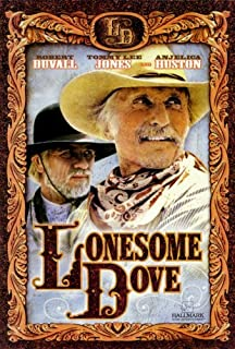Lonesome Dove - Robert Duvall Tommy Lee Jones TV Poster