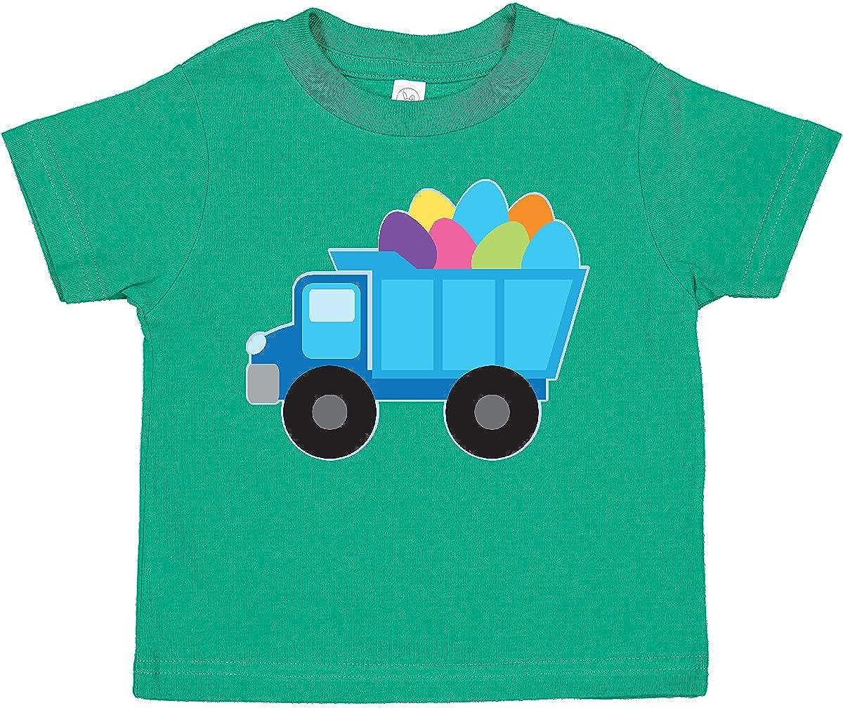 inktastic Easter Egg Truck Boys Toddler T-Shirt
