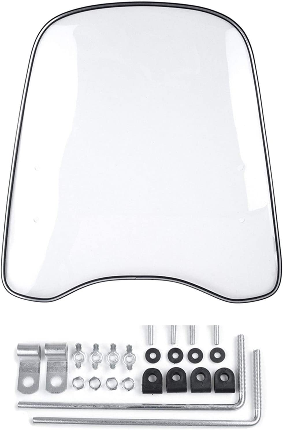 MDZZ Motorcycle Wind Deflector Mail order Clear Transparent Front Motorbike Animer and price revision