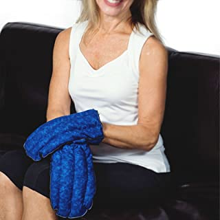 Kozy Collar Microwavable Heating Mittens for Hand and Fingers to Relieve Arthritis, Pains and Soreness – Natural, Safe and Reusable