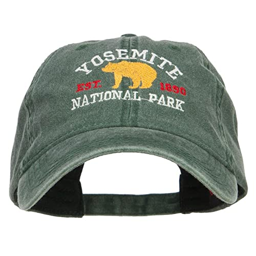 5ca0d680 Yosemite National Park Embroidered Washed Cap