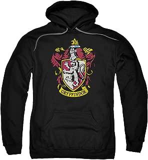 Harry Potter Gryffindor Crest Adult Pull Over Hoodie Black
