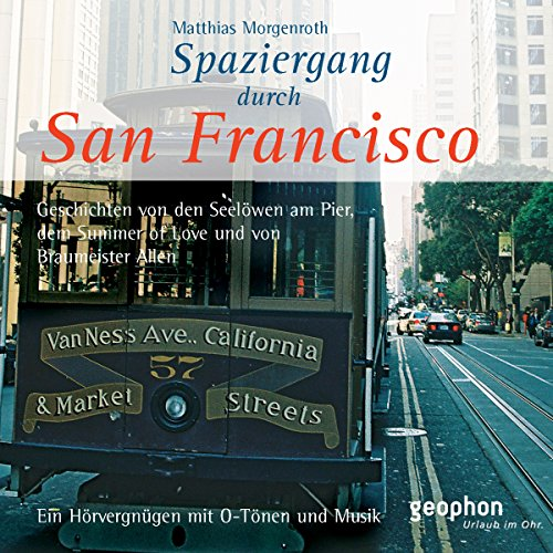 Spaziergang durch San Francisco                   By:                                                                                                                                 Reinhard Kober,                                                                                        Matthias Morgenroth                               Narrated by:                                                                                                                                 Henning Freiberg,                                                                                        Ingrid Gloede,                                                                                        Ulrike Winkelmann                      Length: 49 mins     1 rating     Overall 5.0